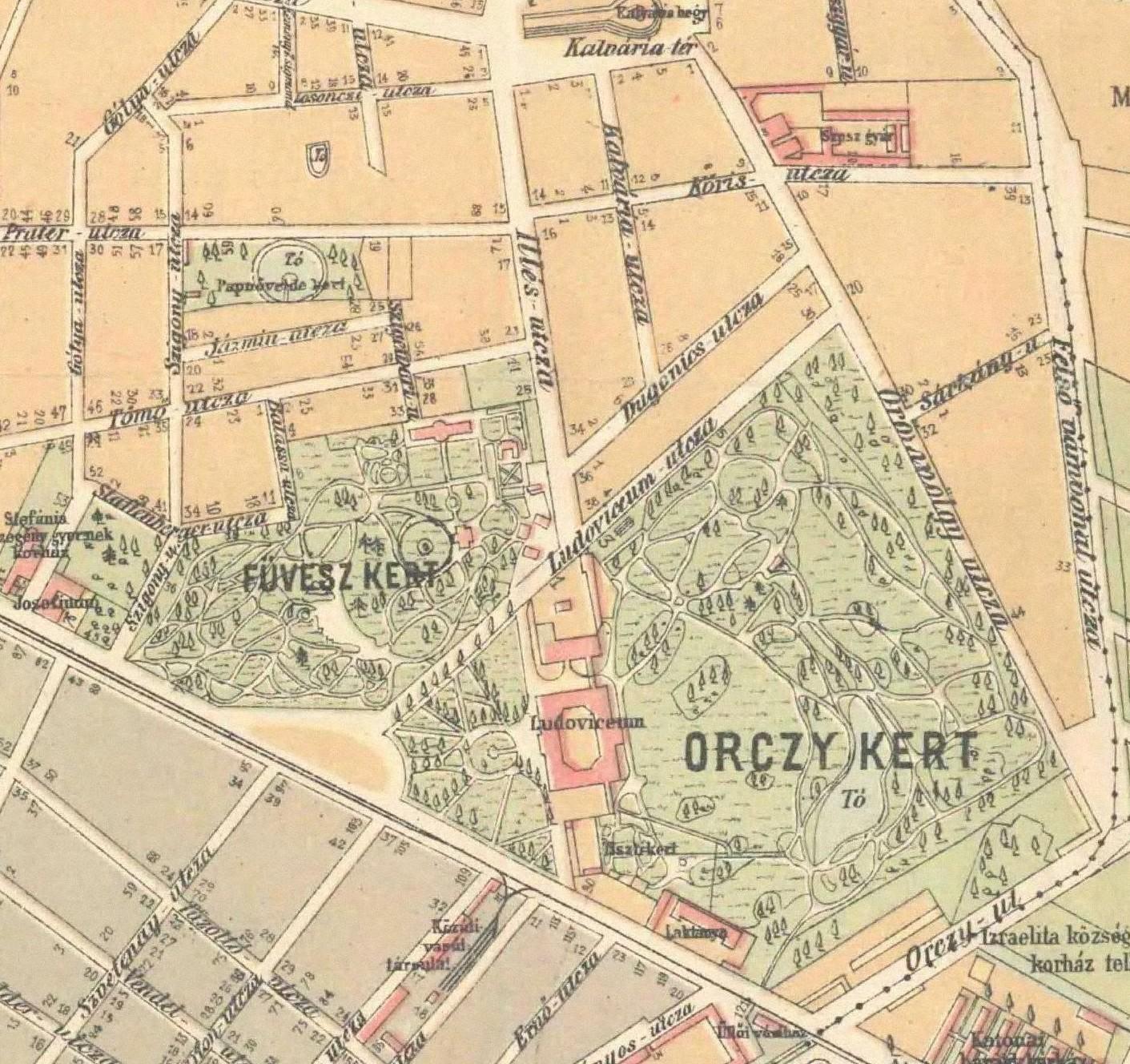 budapest füvészkert térkép Egy sziget felfedezése Budapesten | Pedagógiai Folyóiratok budapest füvészkert térkép