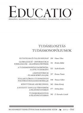 Educatio 2013/3 címlap