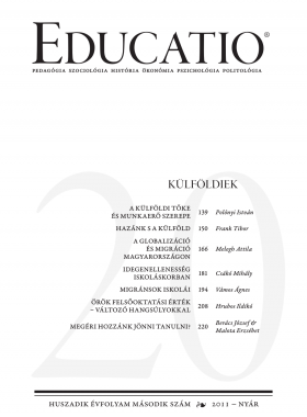 Educatio 2011/2 címlap