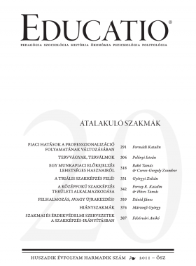 Educatio 2011/3 címlap