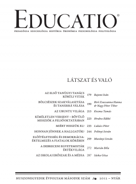 Educatio 2012/2 címlap