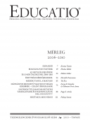 Educatio 2010/1 címlap