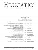 Educatio 2010/3 címlap